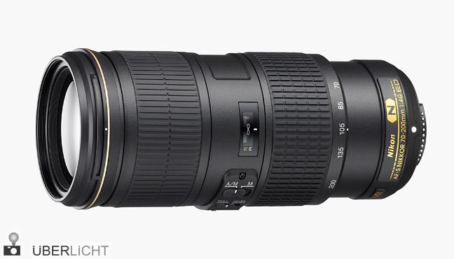 AF-S Nikkor 70-200 mm f/4 ED VR von Nikon