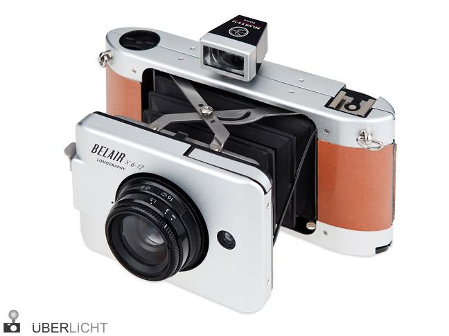 Lomography Belair Jetsetter Balgen-Kamera aus Metall