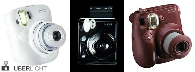 Fujifilm instax mini 7 S, 25 und 50 S Sofortbildkameras