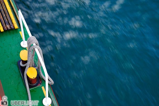 Nikon AF-S Nikkor 24-85 VR Achensee Schiff See verwischt