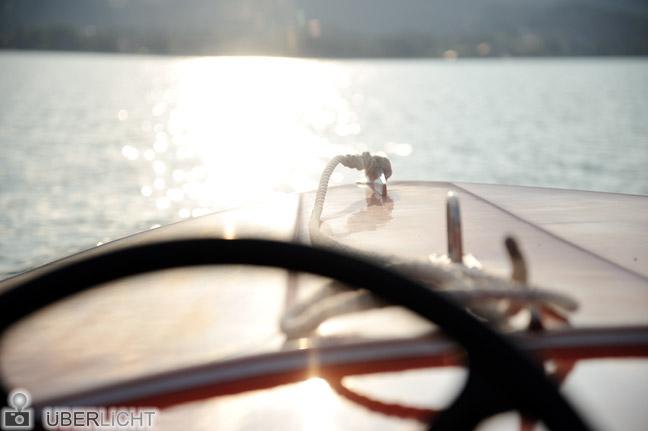 Nikon AF-S Nikkor 24-85 VR Boot auf dem Tegernsee
