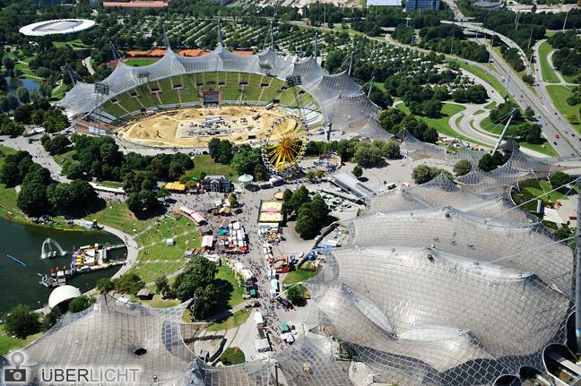 Olympiastadion München mit Nikon AF-S Nikkor 24-85 mm VR und D700