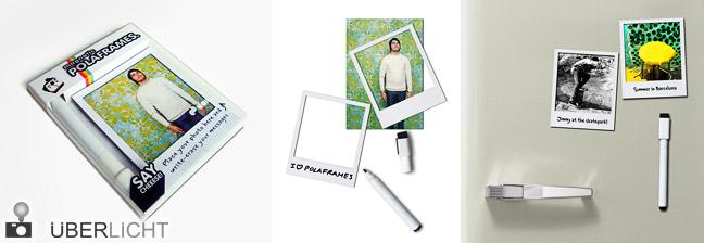 Polaframes Kühlschrank-Magneten Polaroid-Bilderrahmen