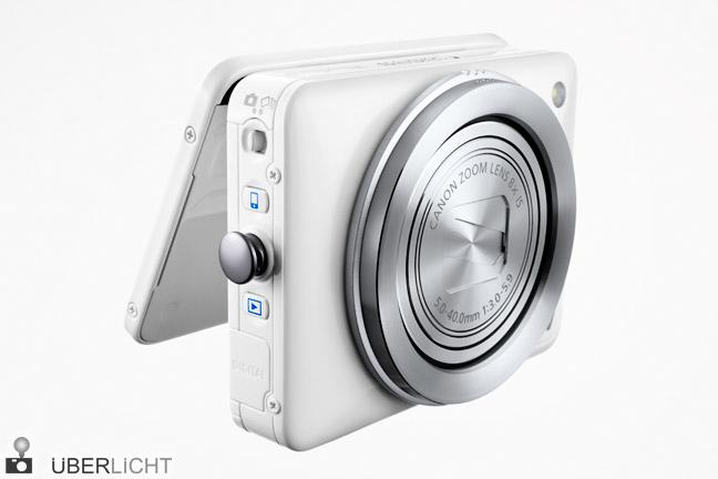 Canon PowerShot N mit innovativen Objektivringen