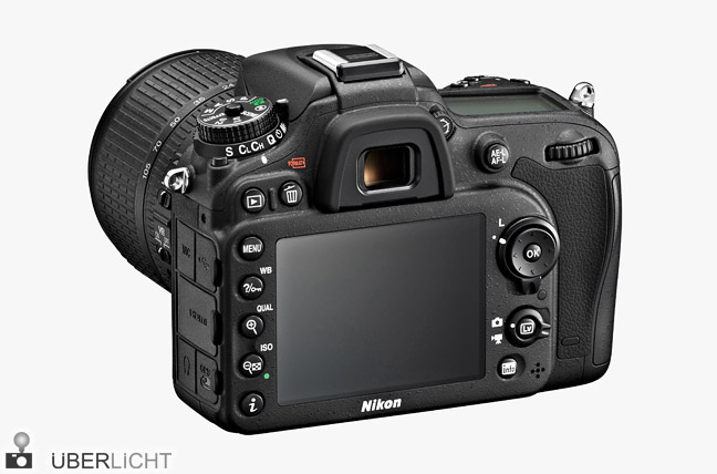 Kamera Nikon D7100 mit 18-105 mm Objektiv schwarz