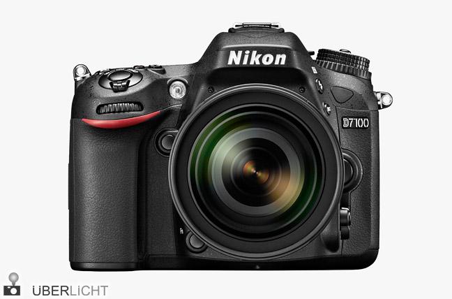 Nikon D7100 Kamera mit 16-85 mm Objektiv