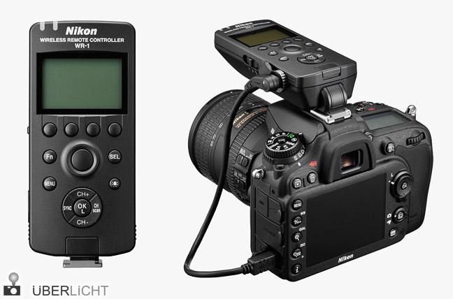 Nikon D7100 Kamera WR-1 Funkfernsteuerung