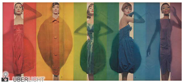 Blumenfeld Studio New York, Race for Colors, 1941-1960