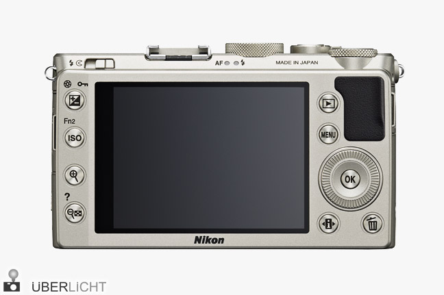 Nikon Coolpix A 3-Zoll-Display Kompaktkamera DX