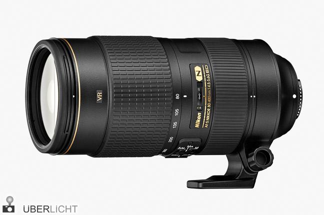 Nikon AF-S Nikkor 80-400 mm 1:4,5-5,6G ED VR Objektiv Telezoom