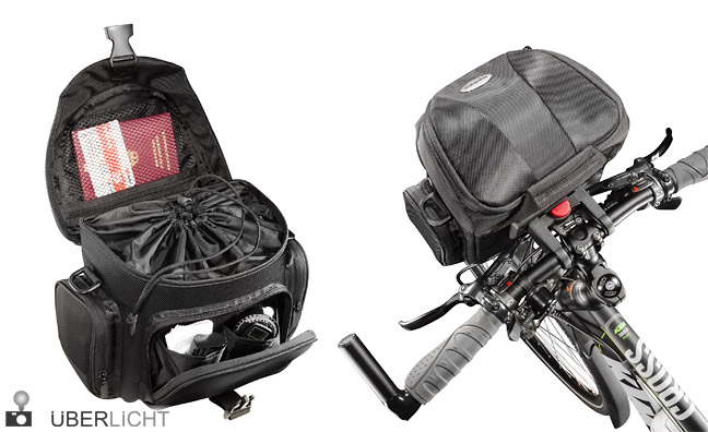 mantona Premium Biker Fototasche für das Fahrrad