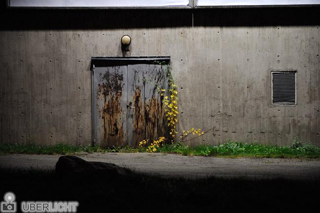 24-70 Nikon Nikkor 2,8 AF-S ED G Hauswand in der Nacht Stockholm