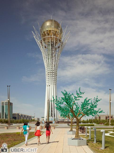 Frank Herfort, Imperial Pomp, Post Soviet Highrise, Bayterek Tower, Astana