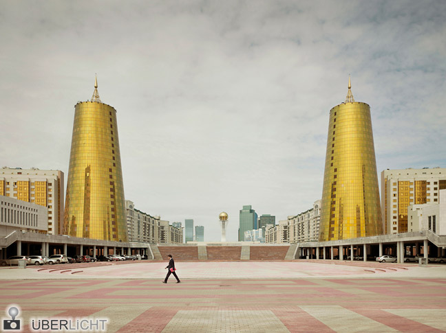 Frank Herfort, Ministry Buildings Astana, Imperial Pomp, Ausstellung in Stuttgart
