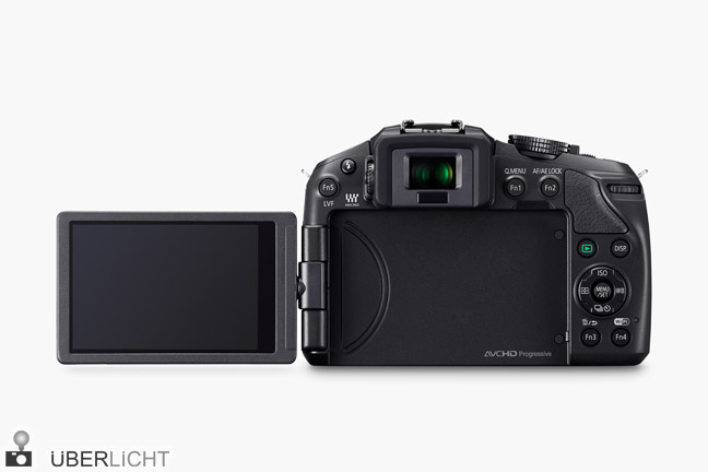 Panasonic DMC-G6, Lumix MFT-Kamera mit schwenkbarem LCD-Touch-Display