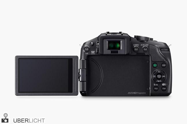 Panasonic DMC-G6, Lumix MFT-Kamera mit schwenkbarem LCD-Touch-Display