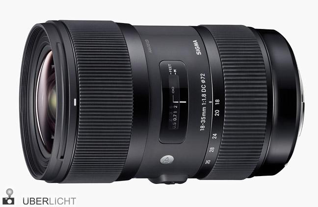 Sigma 18-35 mm F1,8 DC HSM lichtstarkes Zoomobjektiv
