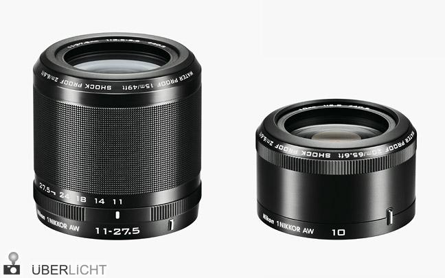 Nikon 1 AW 11-27,5 mm und 10 mm 1:2,8