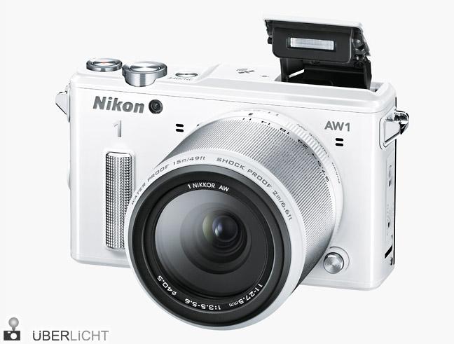 Nikon 1 AW1 mit 11-27,5 mm Objektiv