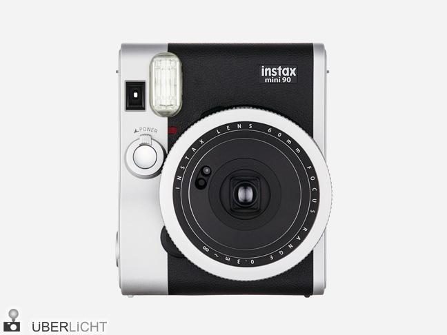 Retro Sofortbildkamera, Fujifilm instax mini 90 Neo Classic