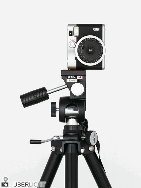 Langzeitbelichtung auf Sofortbild mit der Fuji instax Mini 90 Neo Classic