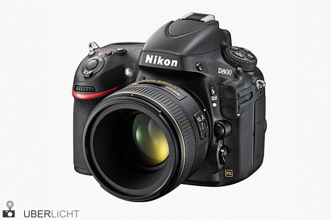 Nikon AF-S 58 mm 1.4G an einer Nikon D800