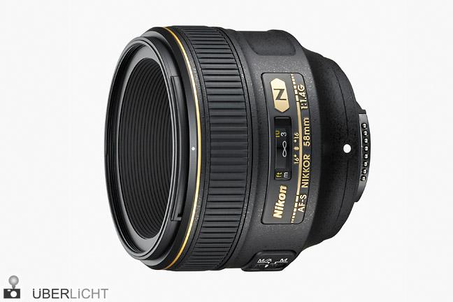 Nikon AF-S 58 mm 1.4G Nikkor lichtstark