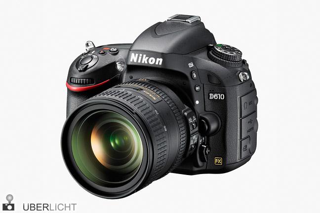 Nikon D610 mit 24-85 mm VR FX-Kamera
