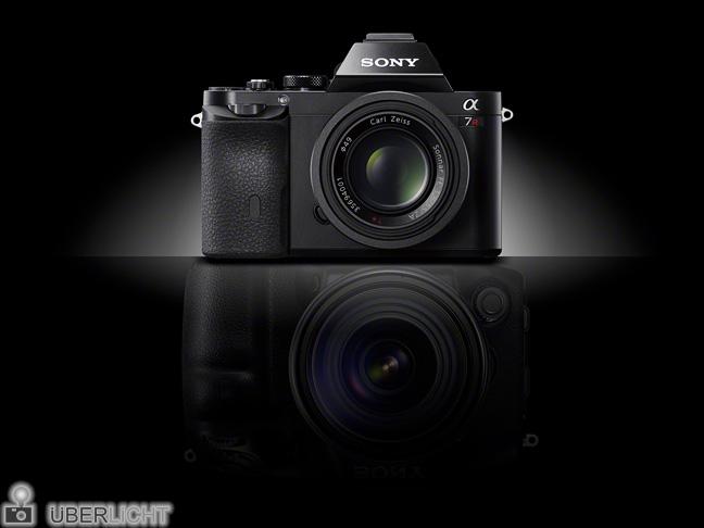 Sony alpha A7R, spiegellose Vollformat-Systemkamera