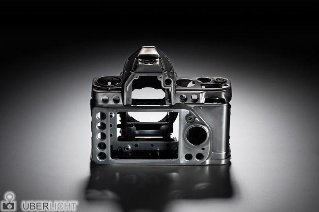 Magnesiumgehäuse der Nikon Df