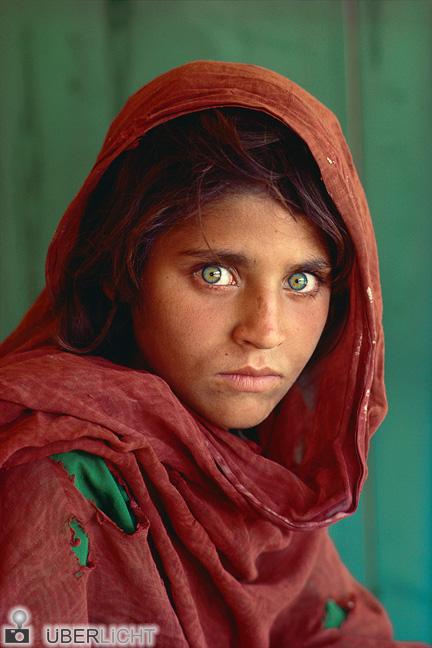 Steve McCurry, National Geographic, Mädchen, Ausstellung