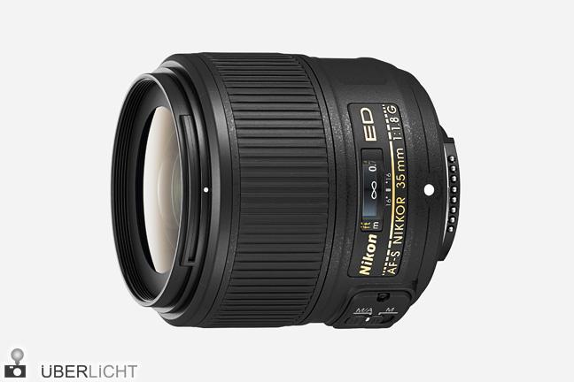 Festbrennweite von Nikon, AF-S NIKKOR 35 mm 1:1,8G ED Objektiv