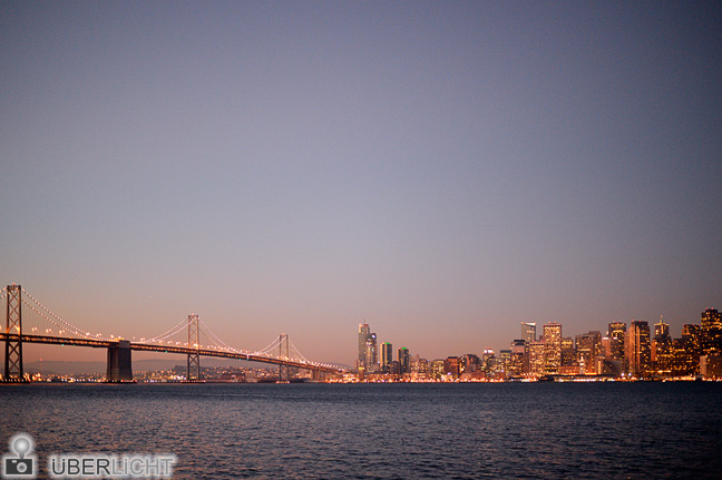 Nikon Df San Francisco Panorama Skyline Bay Bridge