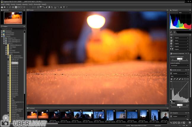 Nikon Capture NX-D Beta Vorschau
