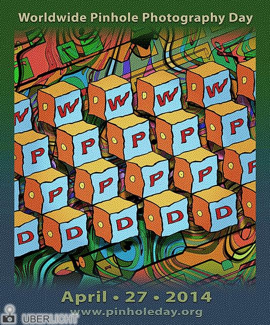 Poster von John Neel zum Pinhole-Day WPPD 2014