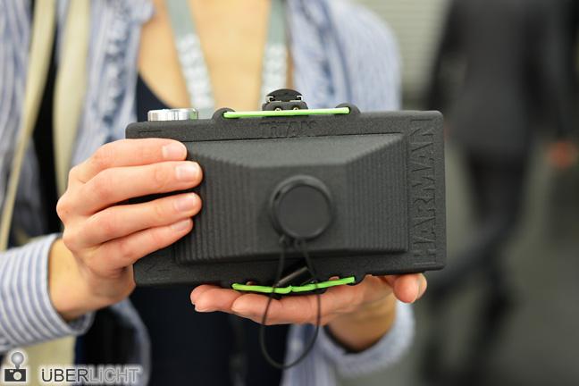 Harman Titan 120 Lochkamera Prototyp auf der Photokina 2014