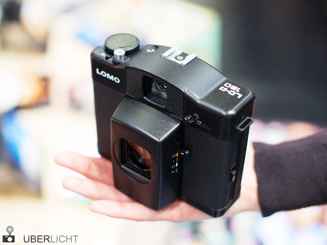 Mittelformatkamera Lomo LC-A 120