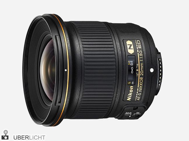 Nikon AF-S NIKKOR 20 mm 1:1,8G ED