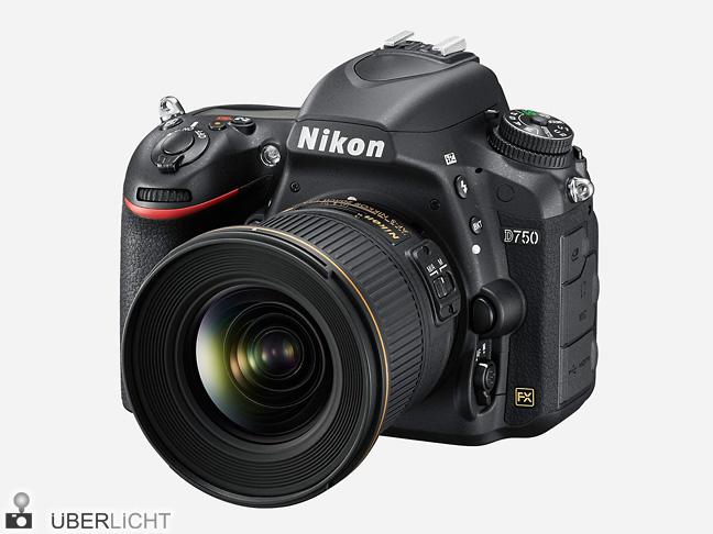 Nikon D750 mit 20 mm 1:1,8G ED