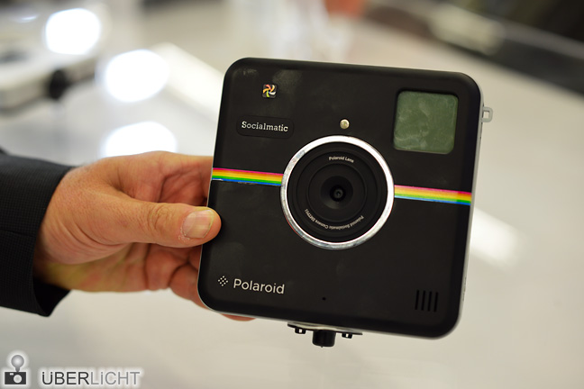 Polaroid Socialmatic in Schwarz
