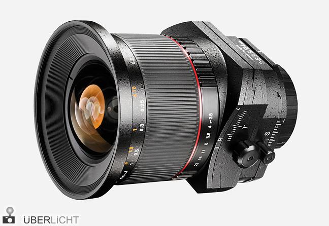 walimex pro 24mm 1:3,5 Tilt-Shift Objektiv