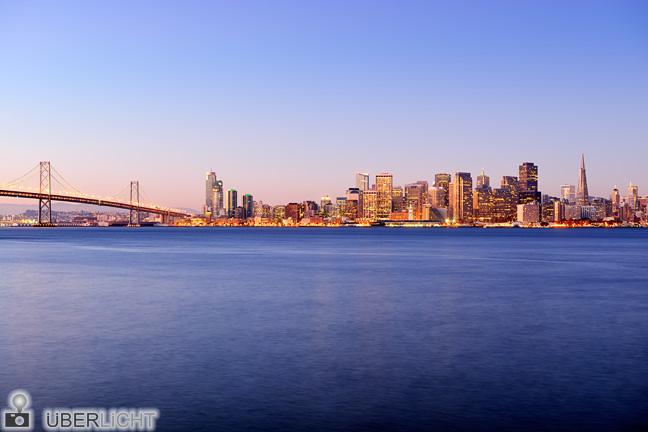 Originalfoto San Francisco Skyline für WhiteWall-Produkttest
