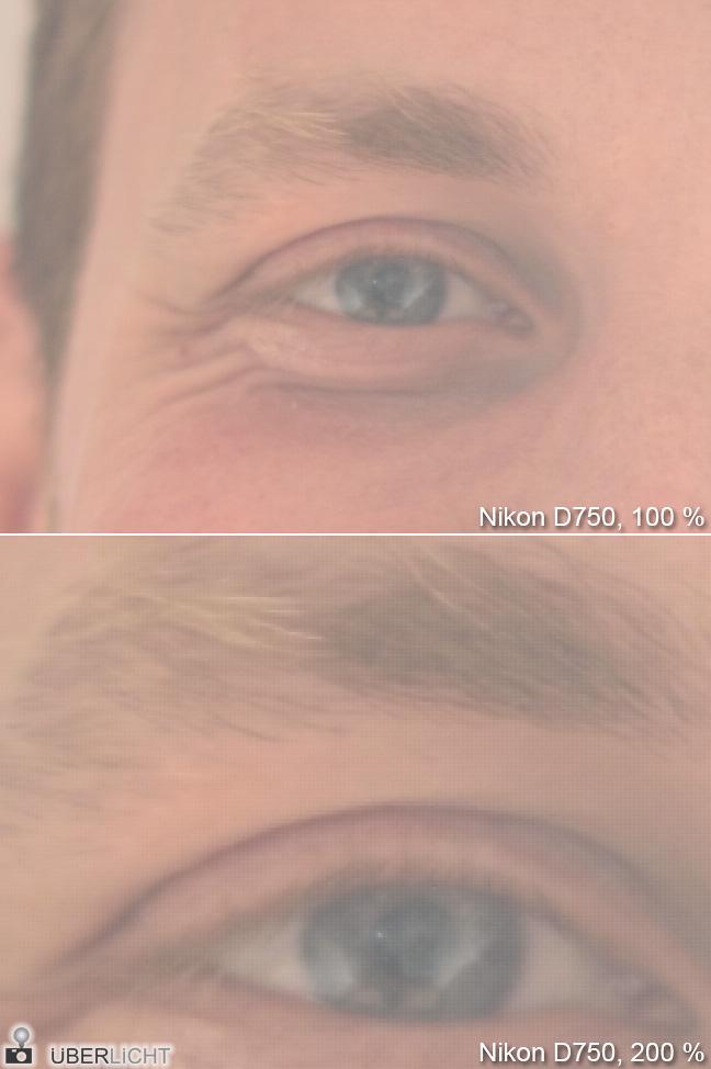 Im Studio mit der Nikon D750 nachgestellte Aufnahme
